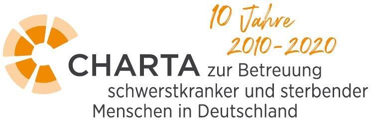 Die Charta zur Betreuung schwerstkranker und sterbender Menschen in Deutschland - Jubiläumslogo