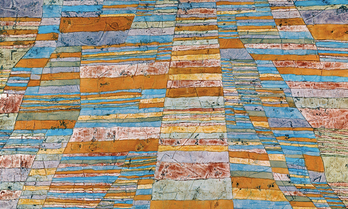 Titelbild: Paul Klee, Hauptwege und Nebenwege, 1929